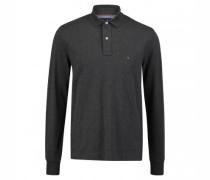 Regulär-Fit Poloshirt aus reiner Baumwolle