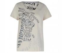 T-Shirt mit dekorativem Besatz