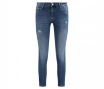Jeans 'Midi' im Used-Look