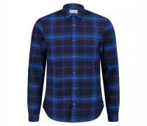 Regular-Fit Hemd mit Glencheck-Muster