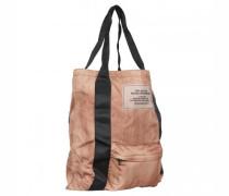 Faltbare Shopping Bag mit Label-Applikation