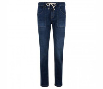 Regular-Fit Jeans 'Lone' mit Kordelzug