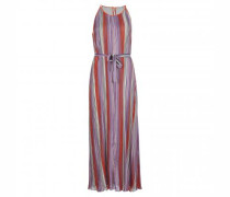 Ärmelloses-Kleid in Streifen-Optik