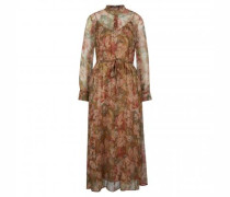 Maxikleid mit All-Over Muster