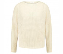 Sweatshirt 'Gifuna' in Häkeloptik