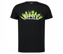 T-Shirt 'Diego' mit Logo-Print