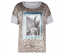 T-Shirt mit Muster-Mix