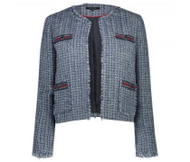 Blazer in Boucle-Optik