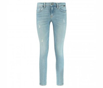 Skinny-Fit Jeans 'Adriana' mit Destroyed-Details
