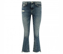 Slim-Fit Jeans 'Halle' mit Destroyed-Elementen