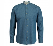 Slim-Fit Hemd 'Nolan' in Denim-Optik