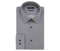 Slim-Fit Hemd 'Jano' mit Musterung