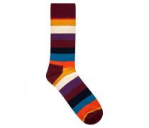 Socken mit Ringelmuster