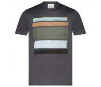 T-Shirt 'James' mit kontrastierendem Muster