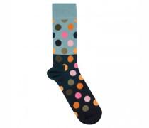 Socken mit Punktemuster