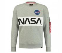 Sweatshirt 'Nasa' mit Frontprint