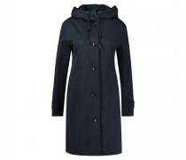 langer Mantel mit Knopfleiste