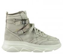 Hightop-Sneaker aus Leder