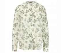 Bluse mit Blumen-Musterung