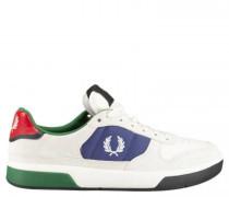 Sneaker im Colour-Blocking Design