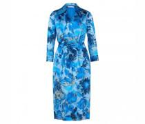 Gemustertes Kleid 'Dantanes' mit Bindegürtel