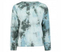Sweatshirt in Batik-Optik