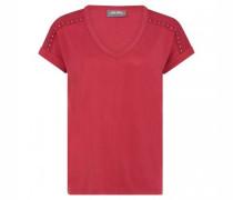 Oversize-Shirt 'Dara' mit Nietendetails