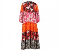Kleid mit All-Over Print
