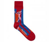Socken mit Pink Panther Motiv
