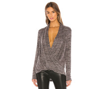 Heathered Pullover Knit Bluse