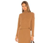 Pullover Knit Cropped Longsleeve Rollkragenpullover