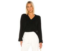 Boxy V Wide Sleeve Pullover