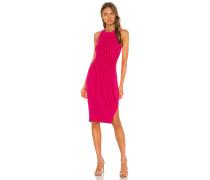 Rid Knee Length Kleid
