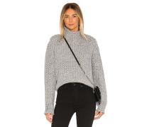 Stevie High Neck Stricksweater