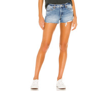 Fulton High Rise Jeans Roll Up Short