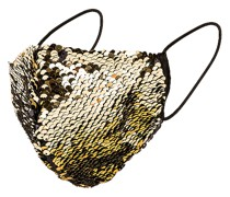 Sculpted Sequin Gesichtsmaske