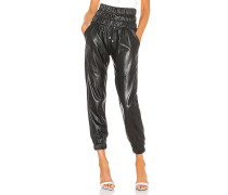 Dalton Leather Jogger
