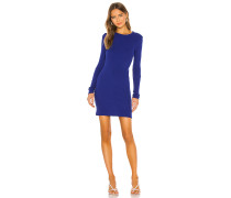 Cashmere Blend Thermal Cuffed Minikleid