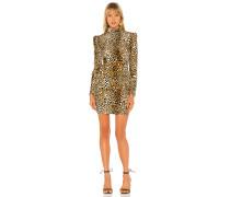 Adeline Leopard Kleid