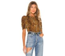 Julia Leopard Bluse