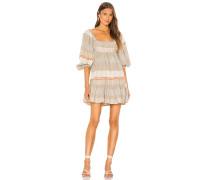 Cozy Striped Minikleid