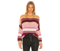 Blur The Lines Striped Pullover