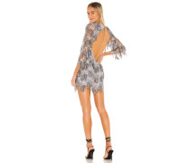 Etoile Sequin Fringe Kleid