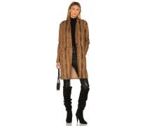 Copperhead Faux Leather Mantel / Jackett