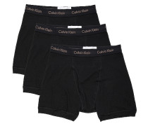 Cotton Classics 3 Pack Boxer Slips