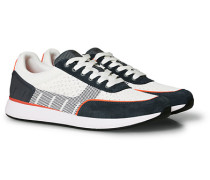Breeze Wave Athletic Running Sneaker White/Black