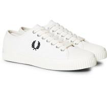 Hughes Low Canvas Sneaker Light Ecru