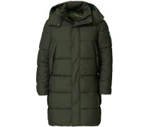 Recycled Padded Parka Thyme Green