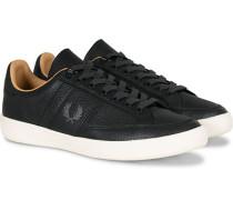 B3 Ledersneaker Black