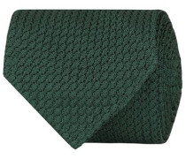 Silk Grenadine Handrolled 8 cm Krawatte Green